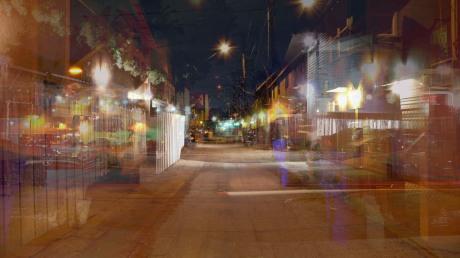 Herman Alley @ Night